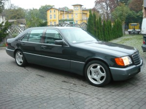 Mercedes Benz W140 600SEL V12, 1993 rok